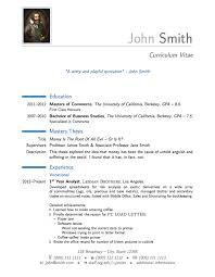 Examples Of Achievements On A Resume by Latex Templates Curricula Vitae Résumés