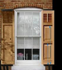 Arch Window Blinds That Open And Close All About Exterior Window Shutters Oldhouseguy Blog