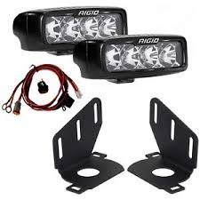 led fog light kit rigid srq series pro led fog light kit for 14 15 chevy silverado