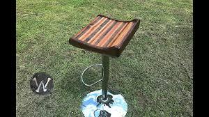 how to make a butcher block bar stool top youtube how to make a butcher block bar stool top