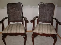 Wicker High Back Dining Chair Reupholster Dining Room Chairs Chocolate Wooden Dining Chairs