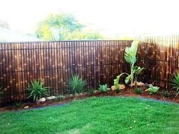 Backyard Fence Ideas Backyard Fence Styles Bamboo Fence Creative Backyard Fence Ideas