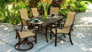 castelle coco isle swivel chairs 8897s and dining chairs 8896s in