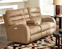 catnapper kelsey power headrest power lay flat reclining console