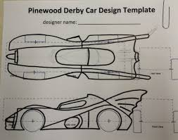 how to build an awesome batmobile pinewood derby car kurt u0027s blog