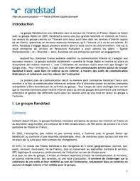 bureau d int駻im étude communication interne randstad by bornarel