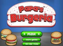 jeux de cuisine de papa burger papas burgeria jeu numéro 7322 sur jeux t45