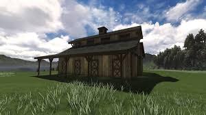 monitor barn 48 u0027 classic monitor horse barn floor plans dc