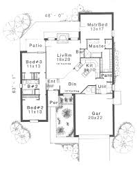 margo park ranch home plan 036d 0164 house plans and more