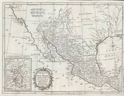 Map Mexico Antique Maps Of Mexico