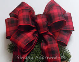 wreath bows etsy