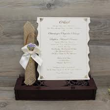 Scroll Invitation Online Shop 100 Pcs Laser Cut Wedding Invitation Card Elegant