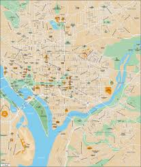 Washington Dc City Map by Geoatlas City Maps Washington City Map City Illustrator