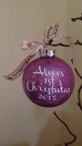 Baby S First Christmas Baubles Uk by Personalized Christmas Cards Uk Christmas Lights Decoration