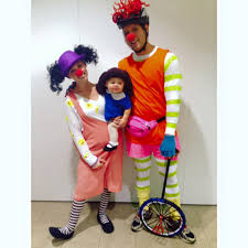 Family Halloween Costumes Ideas by Loonette Molly And Major Bedhead From The Big Comfy Couch