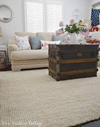 loop rugs coastal cottage with a patriotic summer twist fox hollow cottage