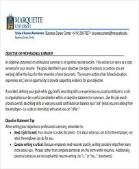 Job Objective Statement For Resume Career Objective Statement For Resume How To Write A Career