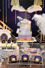 Great Gatsby Themed Party Decorations Kara U0027s Party Ideas Great Gatsby Old Hollywood Birthday Party