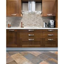 Mosaic Tile For Backsplash by Smart Tiles Bellagio Sabbia 10 06 In W X 10 00 In H Peel And