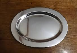 silver holloware gifts us navy officer s mess platter silver plate navy holloware