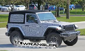 2018 jeep wrangler interior fully revealed jl wrangler 2 door rubicon with soft top seen in most revealing form