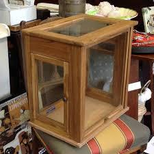 Vintage Cabinet Revamp by Vintage Style Display Case Cabinet Great For Displays Revamp