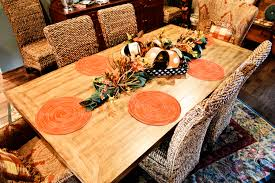 Fall Table Decorations by Fall Thanksgiving Table Decoration Decorating A For And