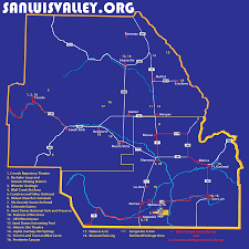 San Luis Valley Colorado Map by Map U2013 Keep It Cool
