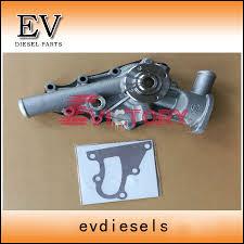for isuzu engine mini excavator 3kb1 water pump 8 97069387 0 in