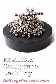 Desk Toys Magnetic Sculpture Desk Toy U2022 Bullseye Presents