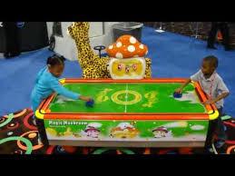kids air hockey table magic world kids air hockey table bmi gaming barron youtube