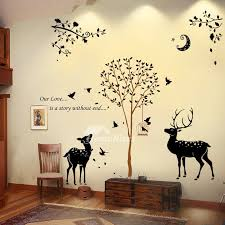 living room wall stickers wall stickers for living room butterfly tree animal flower