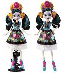 skelita calaveras all about high collectors edition doll skelita calaveras