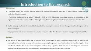 thesis about education in english thesis novice english teachers beliefs about the