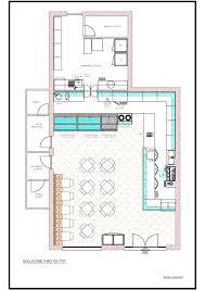 Ice Cream Shop Floor Plan Sweet Line Gallery Locali