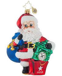 christopher radko state santa ornament created for macy s