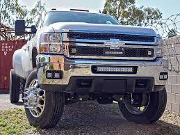 20 In Light Bar 2011 2014 Chevrolet 2500 3500 Bumper Mount Black Rigid Industries