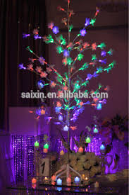 Wedding Tree Centerpieces Led Wedding Tree Centerpiece With Hanging Votive Candle Holder