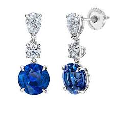 what size diamond earrings gemstone earrings costco