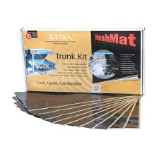 hushmat 19 sq ft ultra sound deadening u0026 thermal insulation trunk