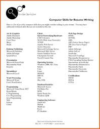 It Skills Resume Sample by Technical Skills Resume It Support Specialist Resume Technical