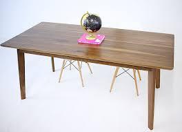 buy a hand crafted the bossa nova solid walnut mid century modern