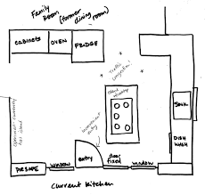home decor galley kitchen design layout mid century modern