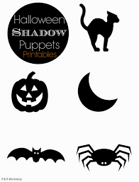 Halloween Pictures Printables 30 Crafty Days Of Halloween Halloween Shadow Puppets See