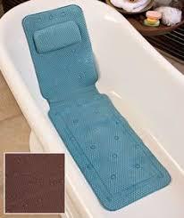 deluxe foam bathtub mat with spa pillow bathtub mat bathtubs