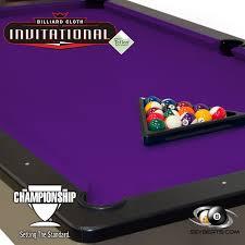 purple felt pool table chionship pool table cloth teflon invitational purple