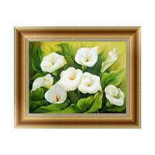 Calla Lily Home Decor Aliexpress Com Buy New Diy 5d Diamond Painting Calla Lily