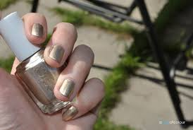 notd essie good as gold a pop of colour