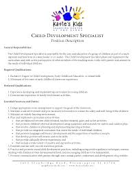 Teachers Resume Example Early Childhood Teacher Resume Sample Resume For Your Job