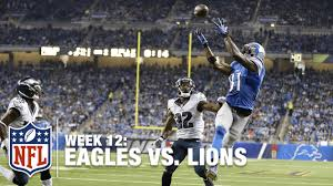 calvin johnson gobbles up his 2nd td of the eagles vs